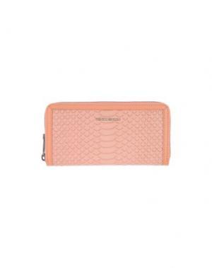 Бумажник COCCINELLE. Цвет: лососево-розовый