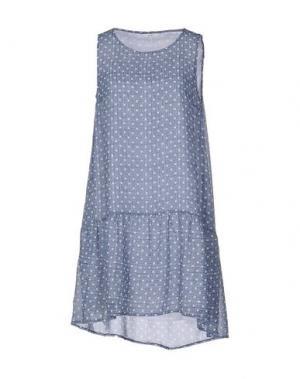 Короткое платье GAZEL. Цвет: синий