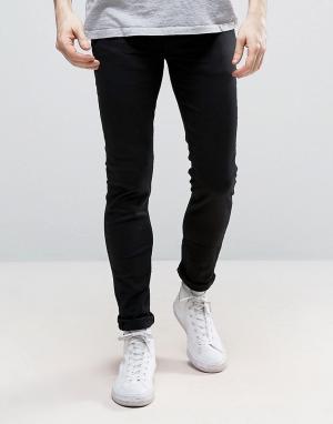 New Look Черные эластичные джинсы скинни. Цвет: черный