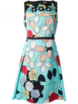Платье с кружевными деталями Antonio Marras. Цвет: чёрный