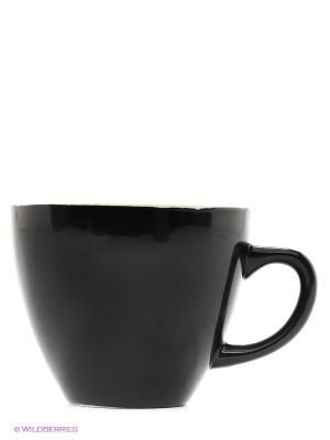 Кружка с пауком Creature Cups. Цвет: черный