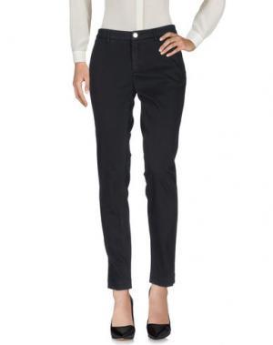Повседневные брюки PEUTEREY. Цвет: черный