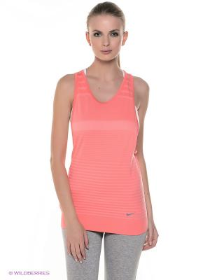 Топ GYM DRI-FIT KNIT TANK 2 Nike. Цвет: розовый