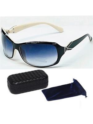 Очки солнцезащитные 6238 , цвет - черный + чехол футляр Prius. Цвет: черный