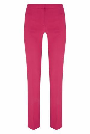 Однотонные брюки Natalia Valevskaya. Цвет: красный