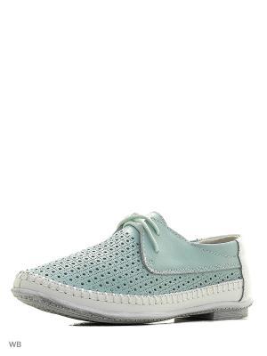 Ботинки Zenden. Цвет: бирюзовый