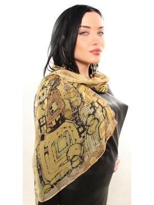 Платок Sophie Ramage. Цвет: коричневый