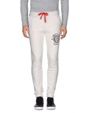 Повседневные брюки SWEET YEARS. Цвет: белый