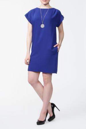 Платье с подвеской First Orme. Цвет: синий