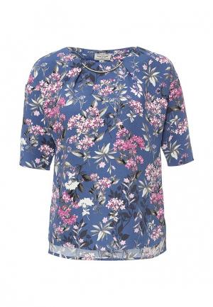 Блуза Finn Flare. Цвет: синий