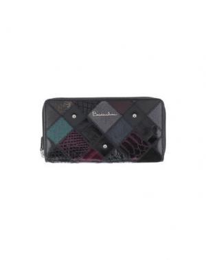 Бумажник BRACCIALINI. Цвет: фиолетовый