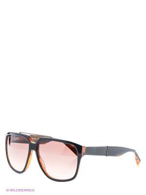 Солнцезащитные очки BLD 1404 204 Baldinini. Цвет: темно-коричневый