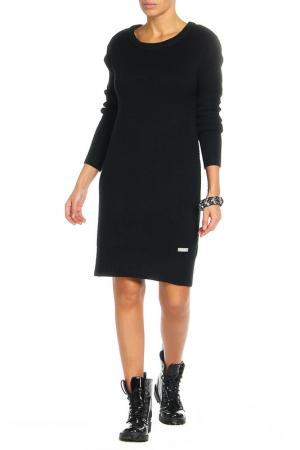 Платье Bench. Цвет: черный