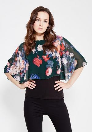 Блуза Adzhedo. Цвет: зеленый