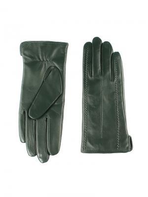 Перчатки женские Piero. Цвет: темно-зеленый