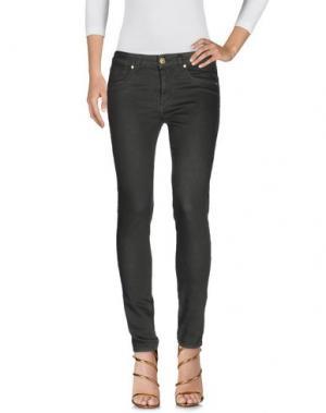 Джинсовые брюки BLUE LUXURY. Цвет: темно-зеленый