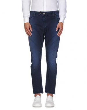 Повседневные брюки MELTIN POT. Цвет: темно-синий