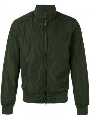 Куртка с высоким воротником Aspesi. Цвет: зелёный