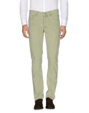 Повседневные брюки PT05. Цвет: светло-зеленый