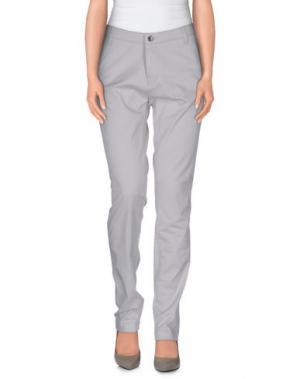 Повседневные брюки NOA. Цвет: светло-серый