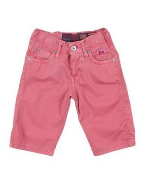 Джинсовые брюки ROŸ ROGER'S. Цвет: пастельно-розовый