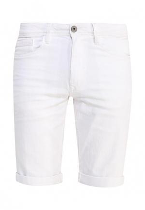 Шорты джинсовые Blend. Цвет: белый