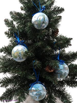 Елочная игрушка Mister Christmas. Цвет: синий, голубой, зеленый