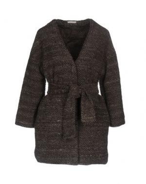 Куртка 40WEFT. Цвет: темно-коричневый