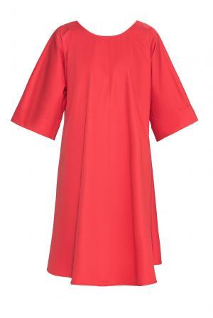 Платье из хлопка PG-180642 Studia Pepen. Цвет: красный