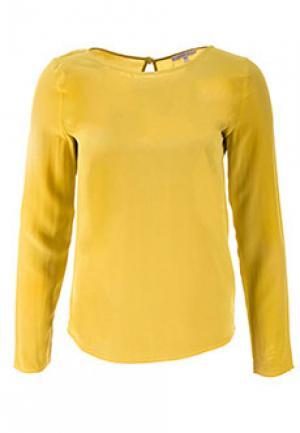 Блуза PATRIZIA PEPE. Цвет: желтый