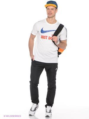 Футболка M NSW TEE JDI SWOOSH NEW Nike. Цвет: белый, синий