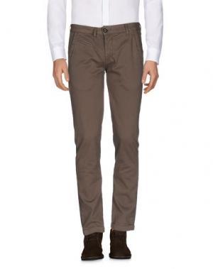 Повседневные брюки MAMUUT. Цвет: хаки