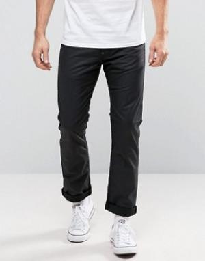 Edwin Узкие вощеные джинсы EB-71. Цвет: черный