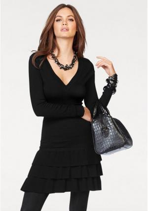 Платье MELROSE. Цвет: черный