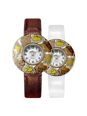 Часы Mikhail Moskvin. Цвет: коричневый, светло-желтый, светло-коричневый
