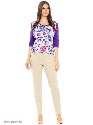 Блузка HI1. Цвет: фиолетовый