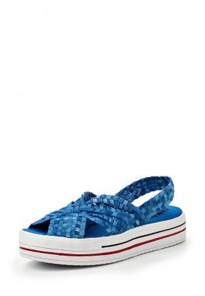 Сандалии Dino Ricci Trend. Цвет: голубой
