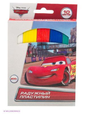 Классический восковый пластилин  Disney тачки, 10 цветов Multiart. Цвет: красный
