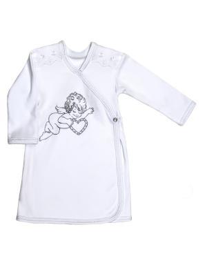 Крестильная рубашка NewBorn. Цвет: молочный