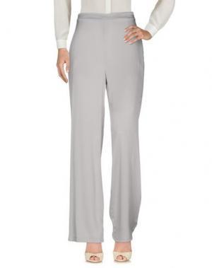 Повседневные брюки BLU BIANCO. Цвет: серый