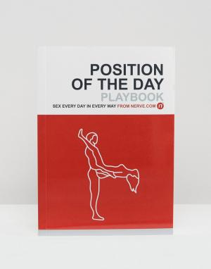 Books Книга Position of the Day. Цвет: мульти