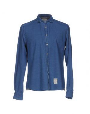 Джинсовая рубашка FRED MELLO. Цвет: синий