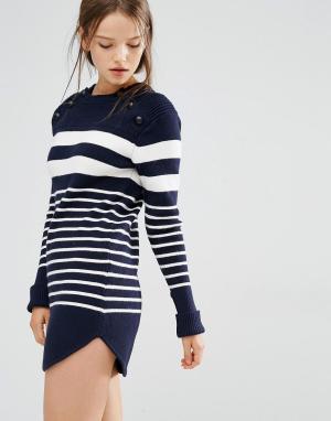 Style Mafia Платье Martro. Цвет: темно-синий