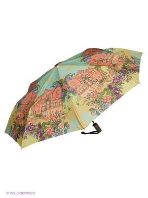 Зонт Stilla s.r.l.. Цвет: желтый, оранжевый, светло-голубой