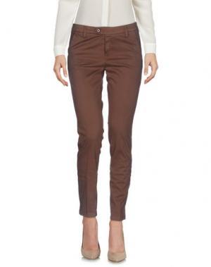 Повседневные брюки AT.P.CO. Цвет: какао