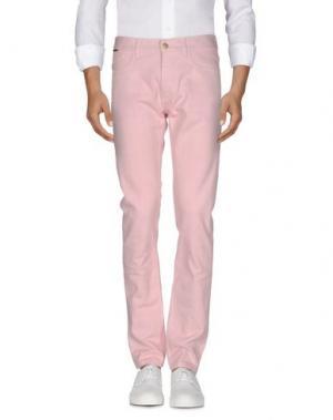 Джинсовые брюки MARC JACOBS. Цвет: розовый