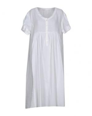 Платье до колена ROSSOPURO. Цвет: белый