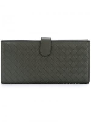Классический кошелек Outsource Images. Цвет: серый