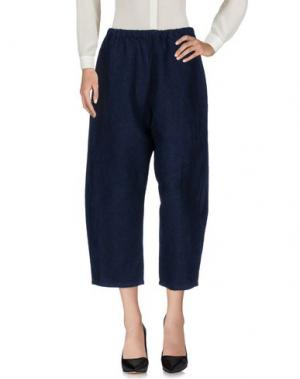 Повседневные брюки A.B APUNTOB. Цвет: темно-синий