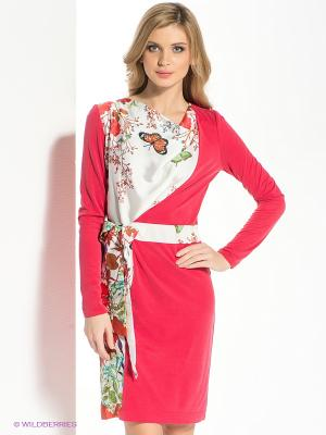 Платье Xarizmas. Цвет: красный, белый